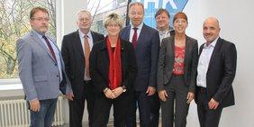 Pressegespärch IHK und DGB Ruhr