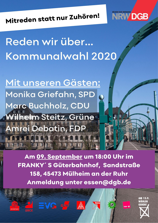 Flyer Veranstaltung Mülheim