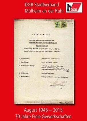Titelbild 70 Jahre DGB in MH