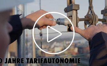 Tarifautonomie: Video erklärt die Erfolgsgeschichte