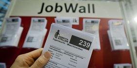 Stellenausschreibung Ingenieur Maschinenbau auf Jobmesse