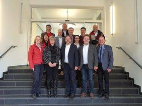 Gruppenfoto der RGF im Ruhrgebiet und der MdBs der SPD