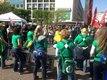 Demonstrationsbegleitung mit Samba
